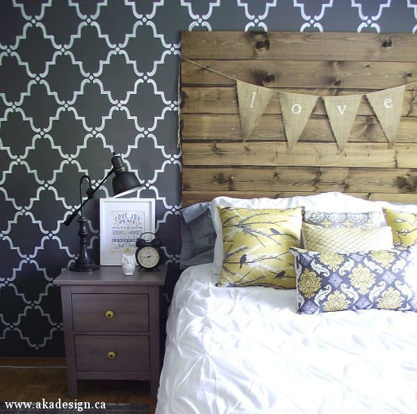 Make Your Own Reclaimed Wood Headboard With NEW Wood