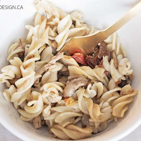 Sauteed Pasta with Vegetables