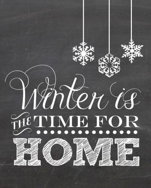 free printables for winter