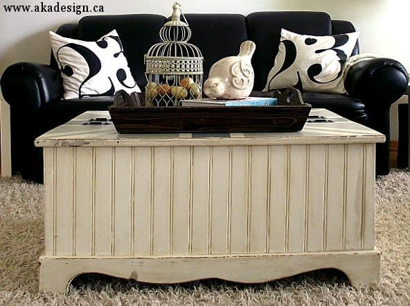 Coffee Table Makeover (a DIY project)