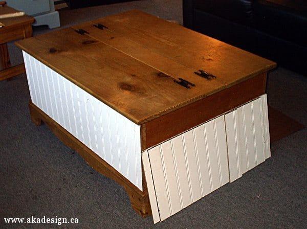 cut beadboard paneling