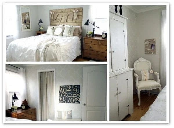 old house master bedroom