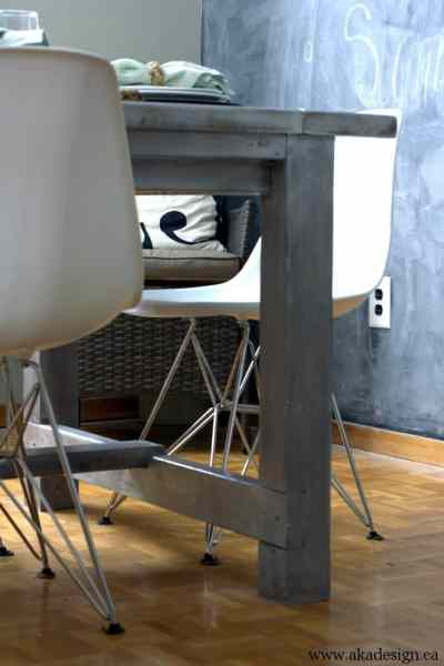 aka design table leg detail