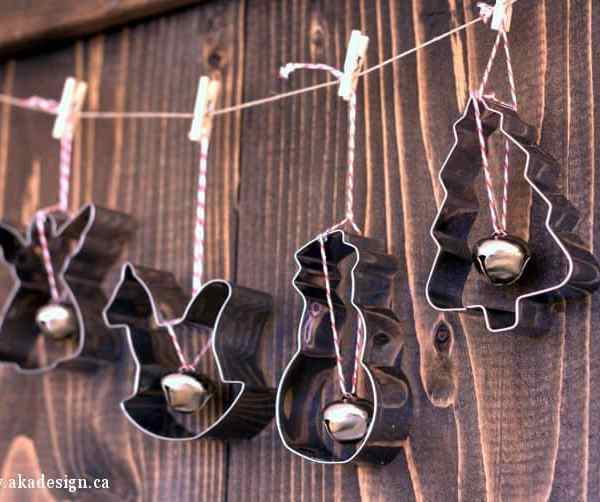 How to Make Easy Cookie Cutter Christmas Ornaments