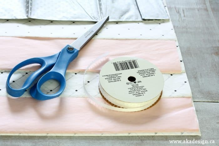 tissue paper tassel supplies