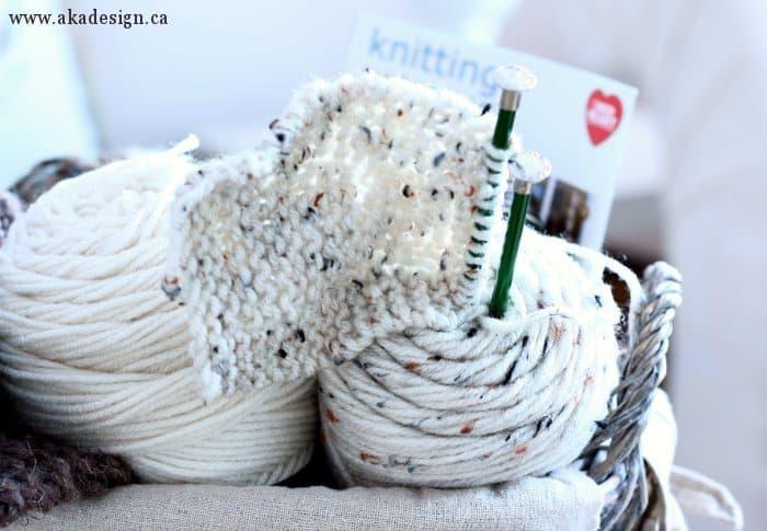 yarn knitting