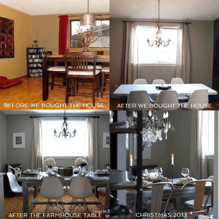 dining room progression