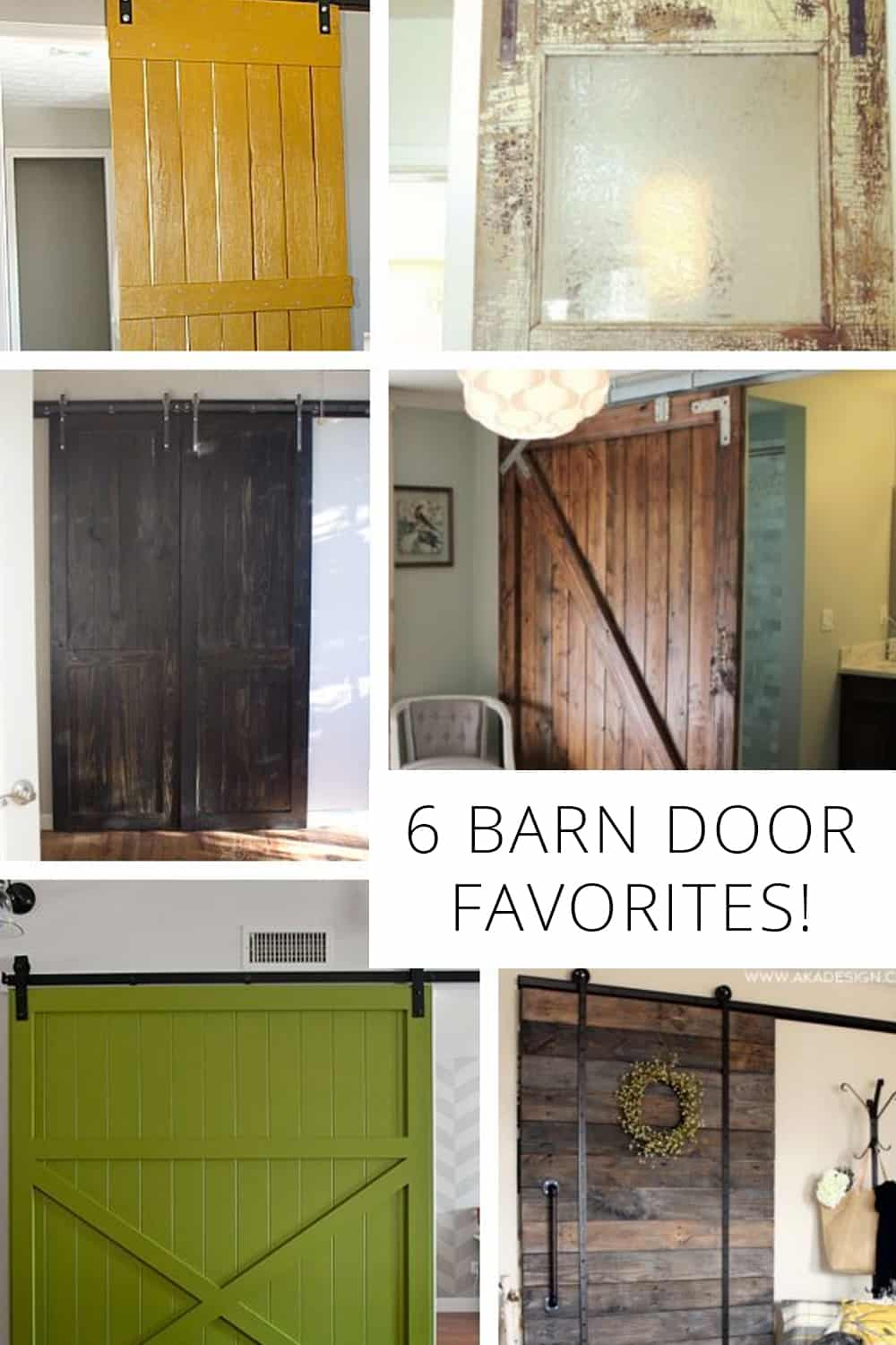 6 barn door favorites