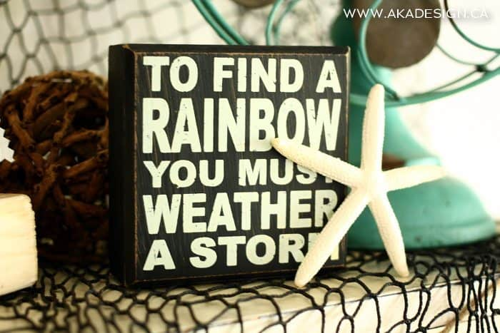 to find a rainbow
