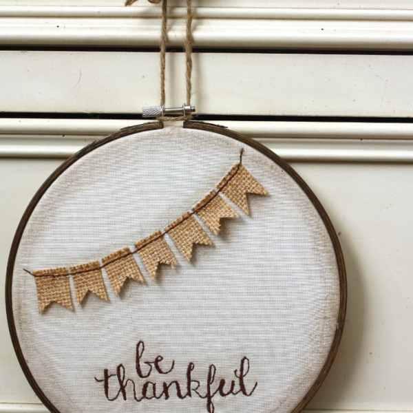 be thankful fall hoop art
