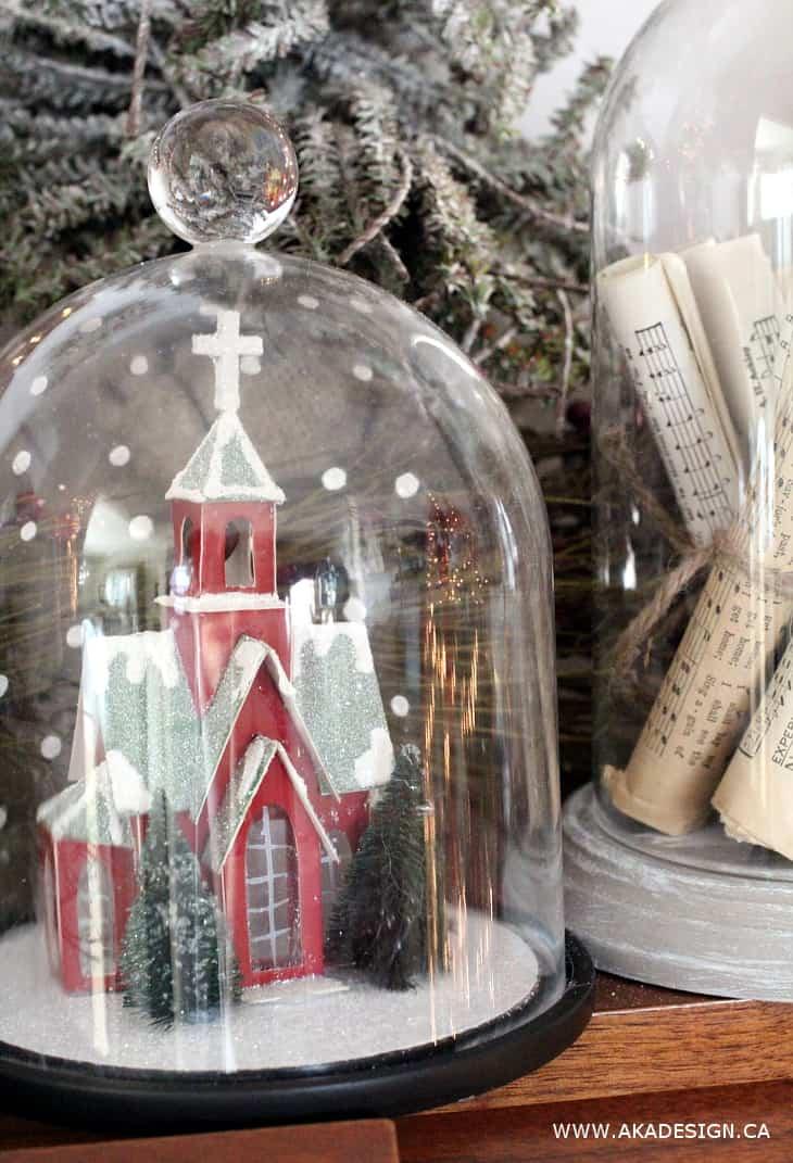 CHRISTMAS CHURCH IN CLOCHE