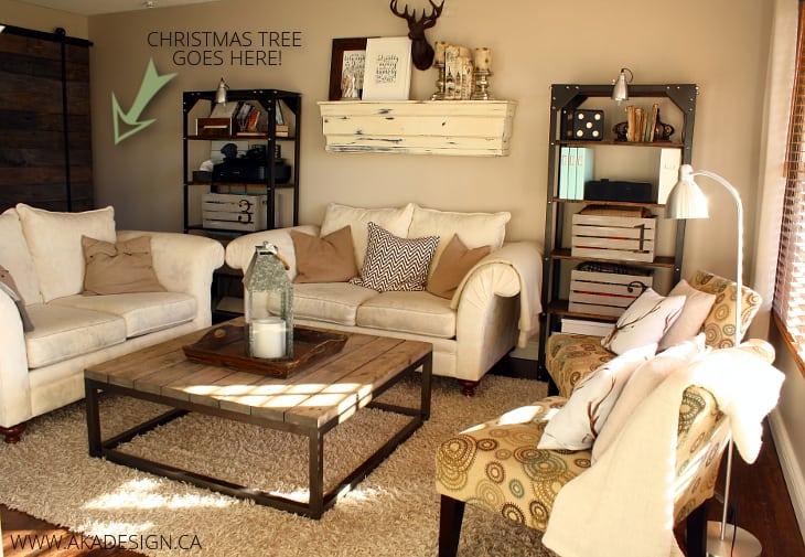 CHRISTMAS TREE GOES HERE