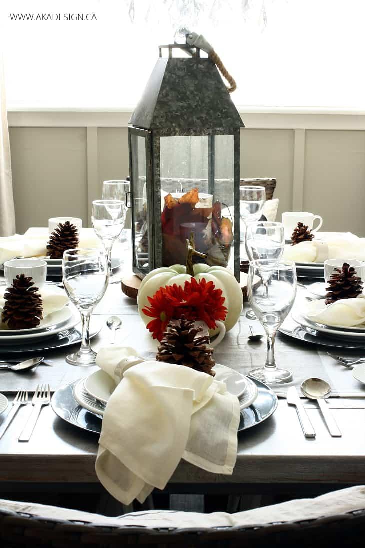 FALL THANKSGIVING TABLE