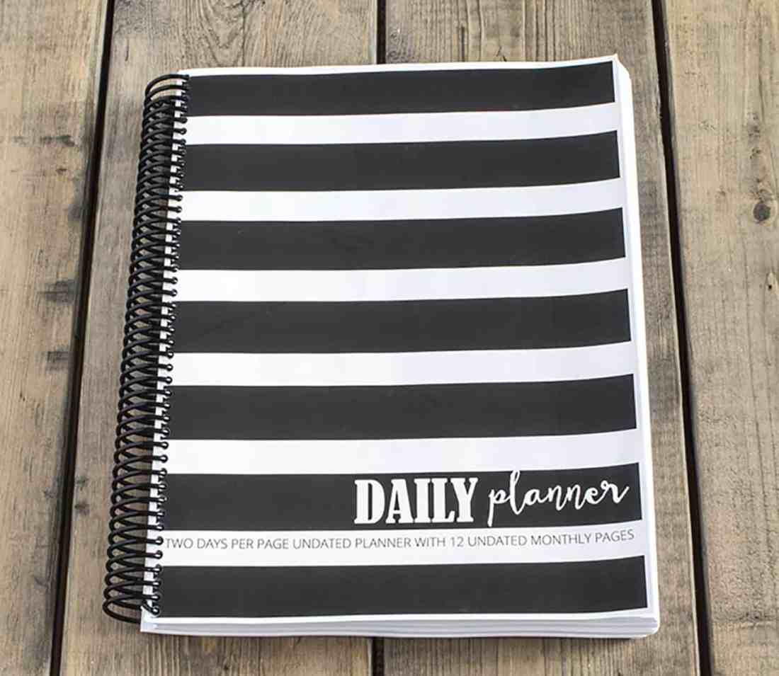 The Daily Planner Free Printable Planner