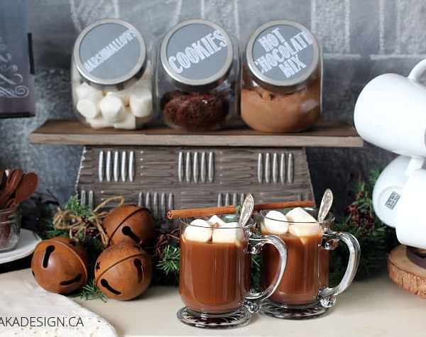 Make Your Own Holiday Hot Chocolate Bar Plus 3 Hot Chocolate Bar Essentials!