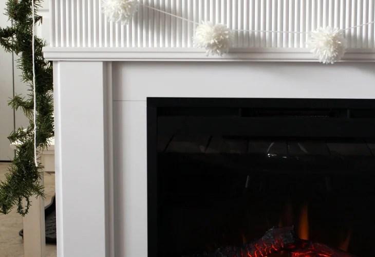 easy diy pom-pom garland tutorial