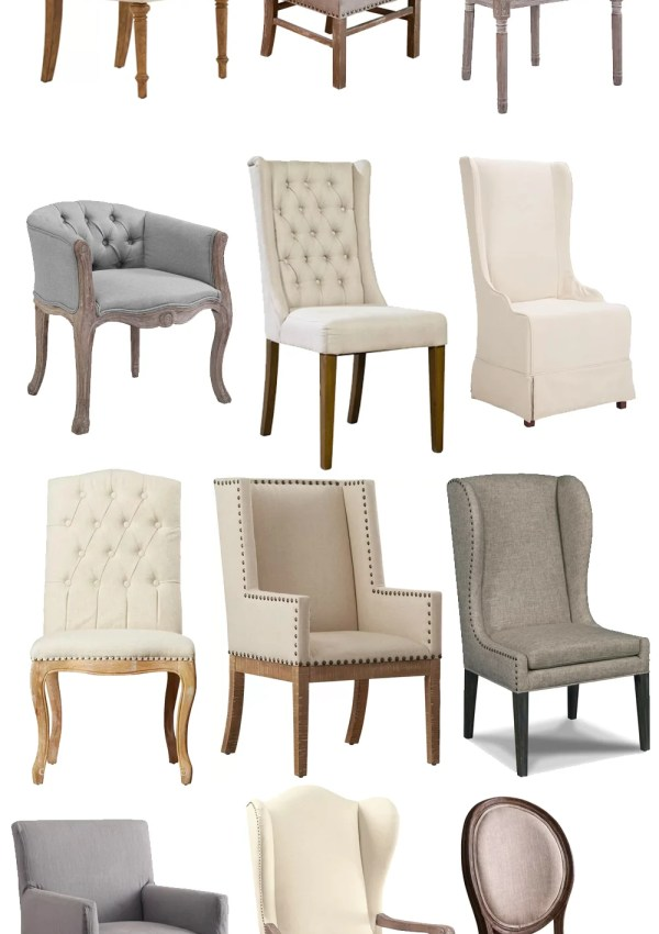 12 of The Best Linen Dining Chairs for Your Dining Room