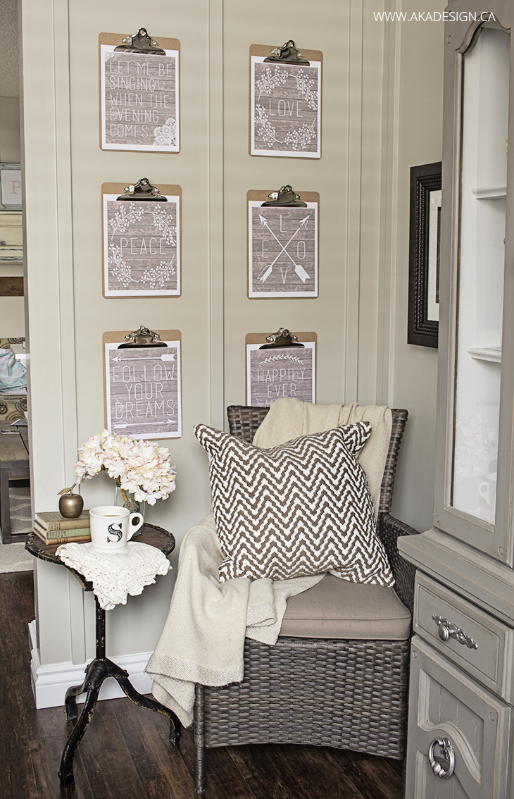 aka design dining room cozy corner