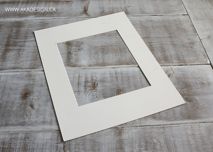 picture frame matte