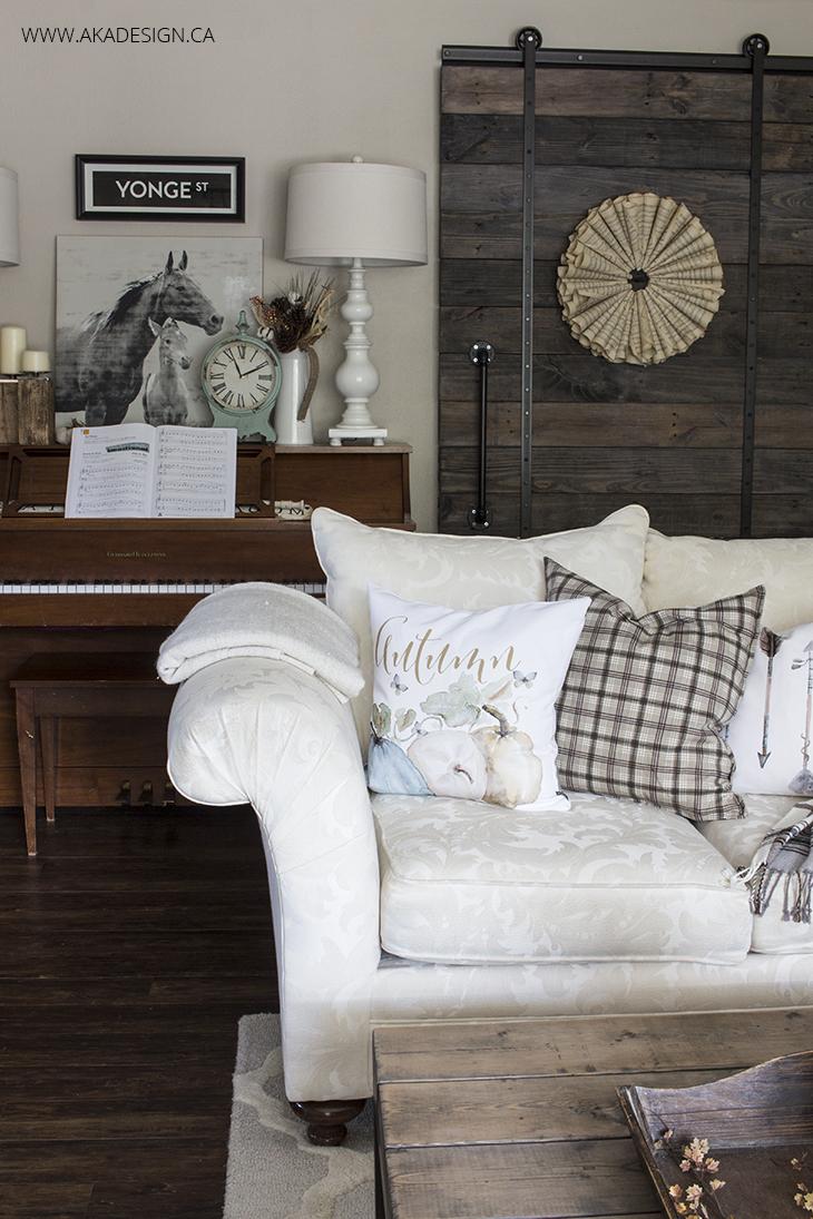 Home Made Lovely Living Room Fall 2015