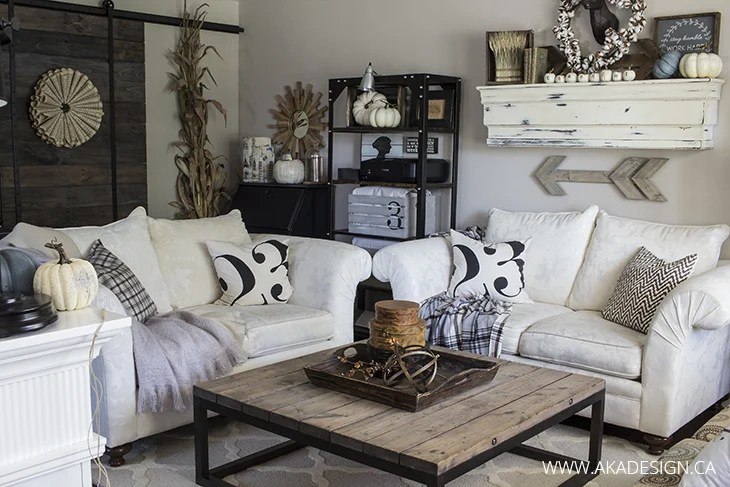 Home Made Lovely living room