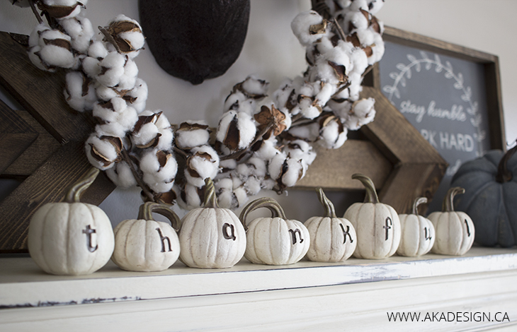 Home Made Lovely mantel details