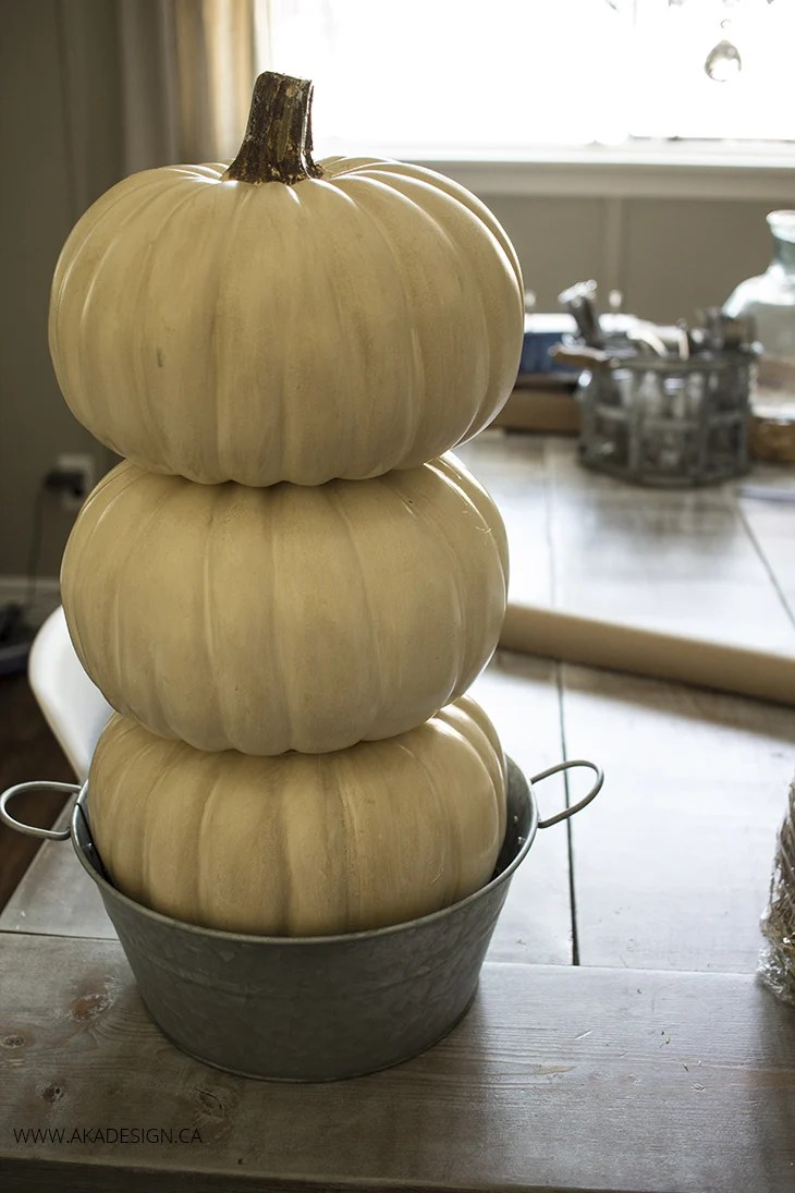 pumpkin tower
