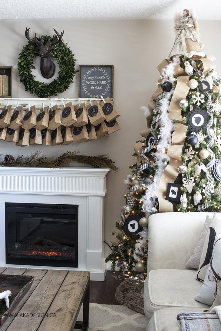 aka design christmas living room 2015