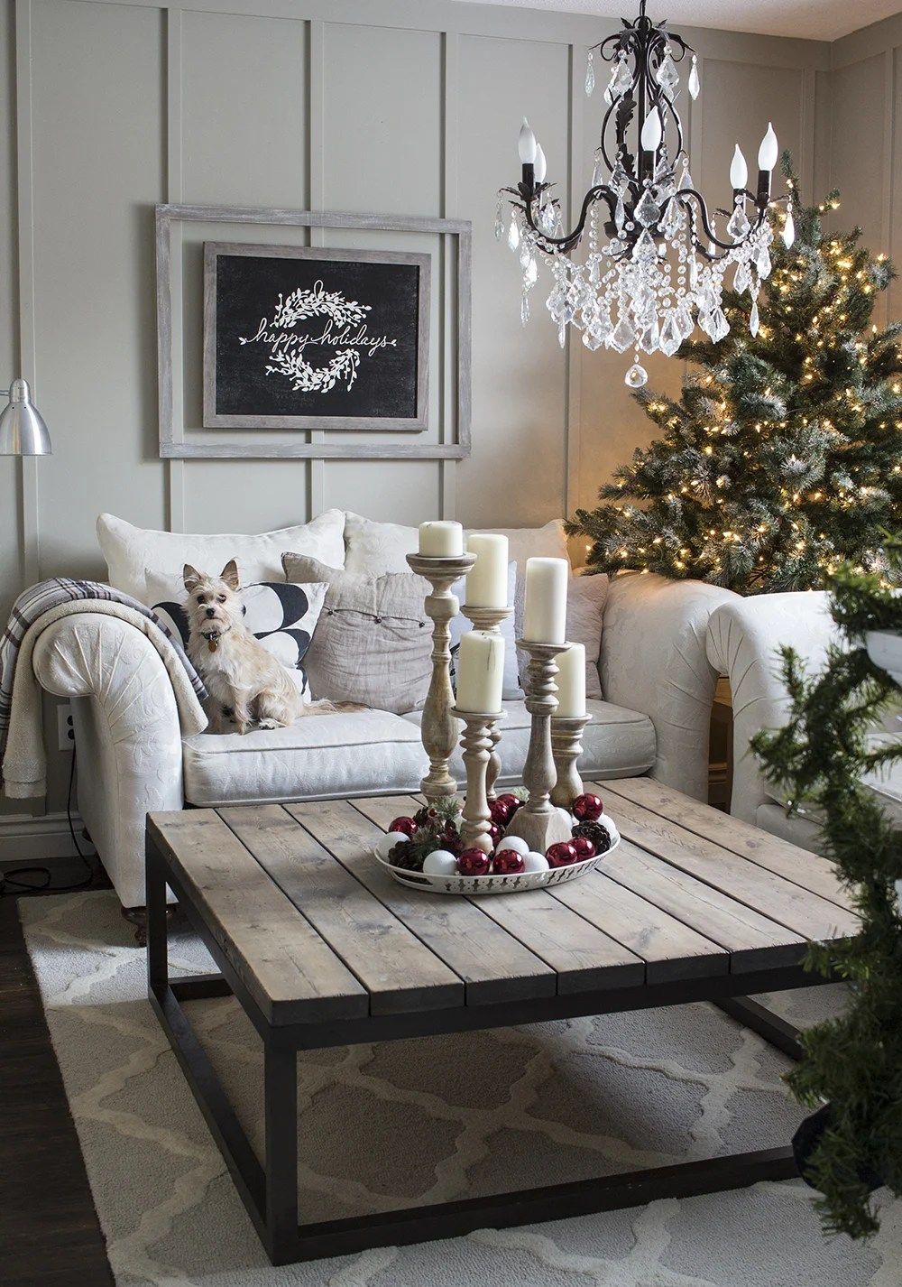 Modify Ink Happy Holidays Home Made Lovely Living Room