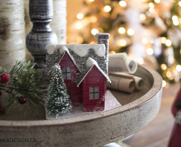 mini christmas house