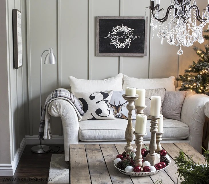 white couch board and batten living room