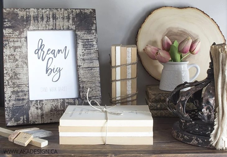 Home Made Lovely DIY Book Bundles Trash To Treasure Jan 16