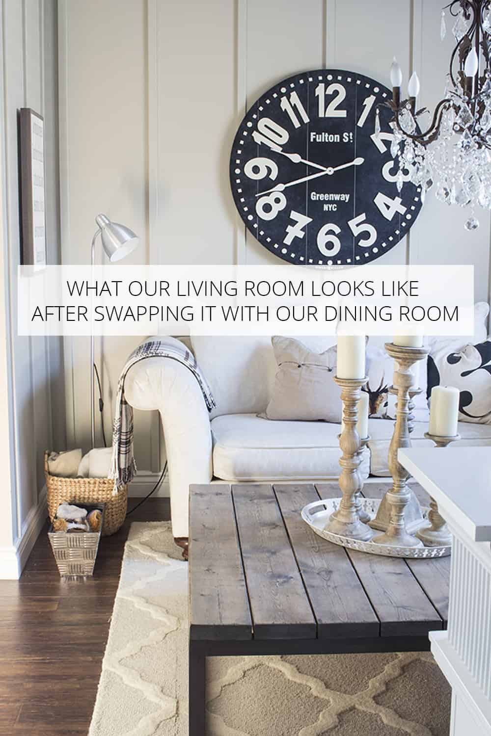 Life After Swapping The Living And Dining Rooms
