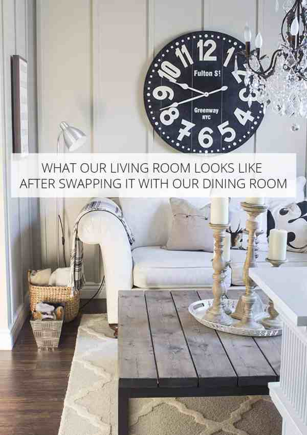 The State of the Living Room – After Swapping the Living and Dining Rooms