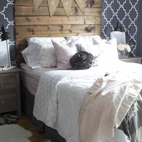 Backsplit Master Bedroom
