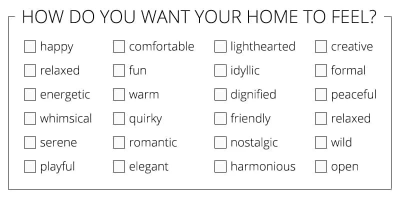 Where to start decorating your home