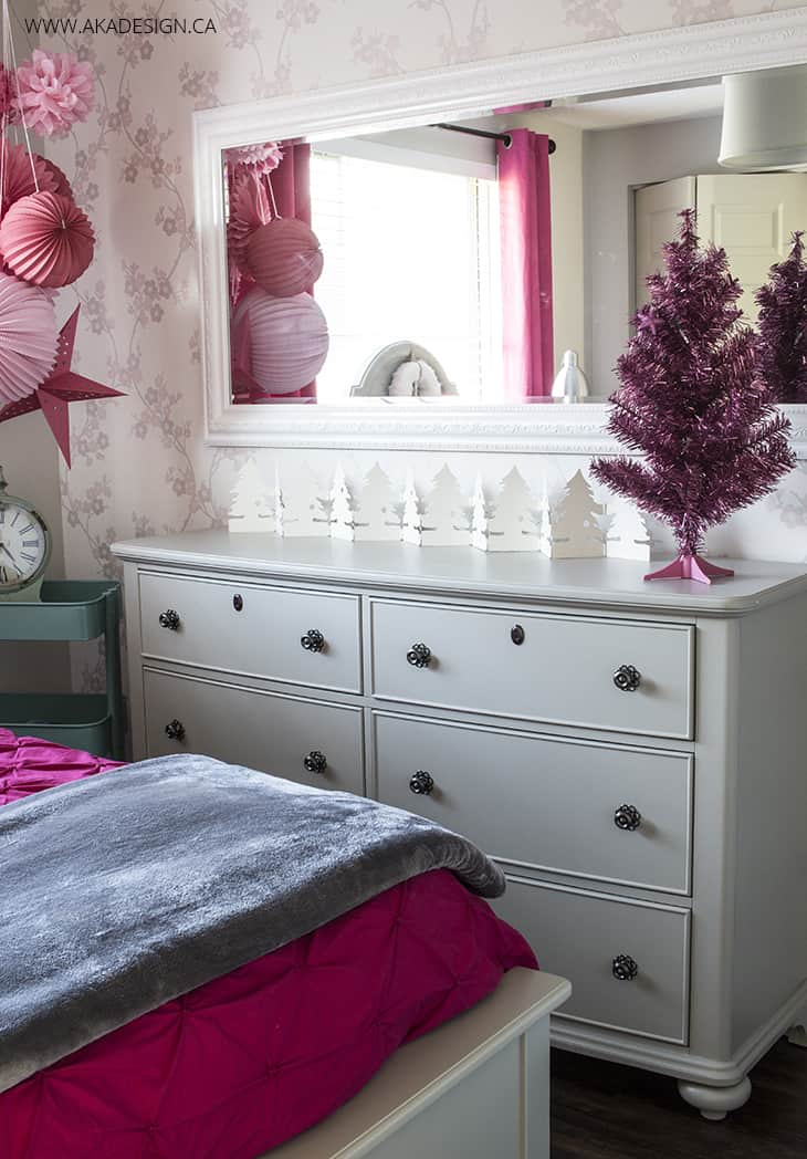 taupe dresser