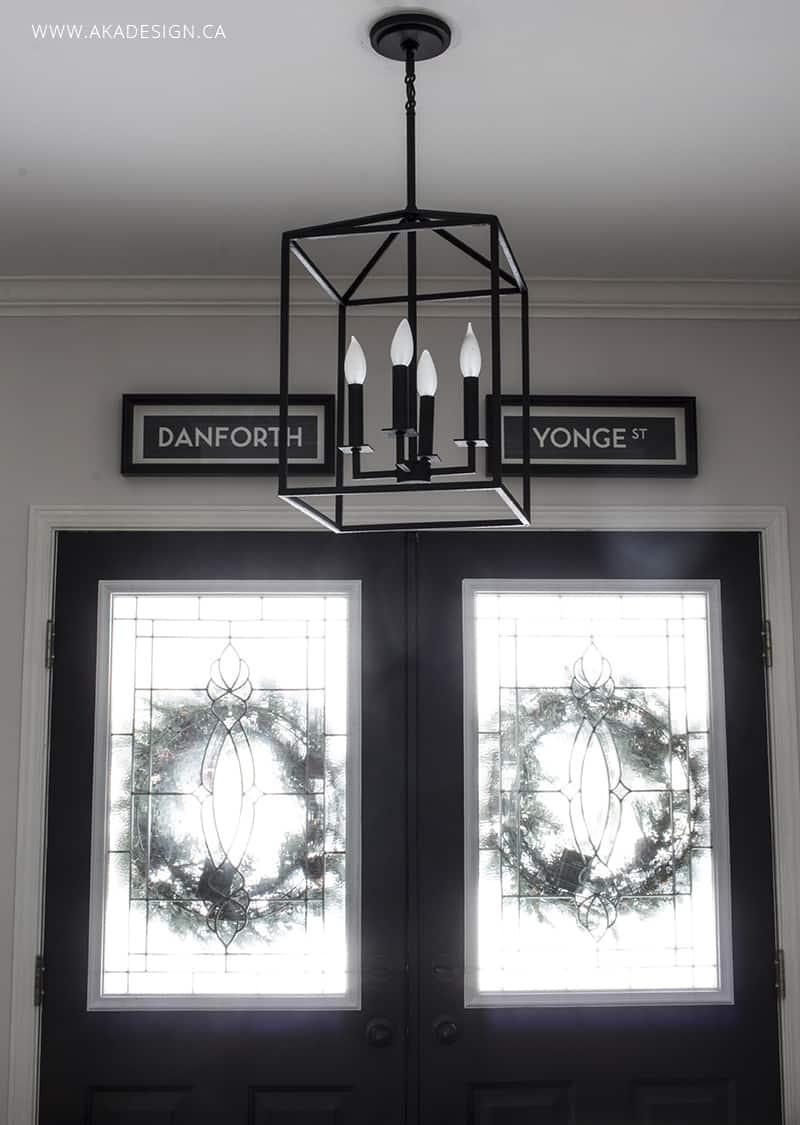 black-carriage-lantern-entry-light