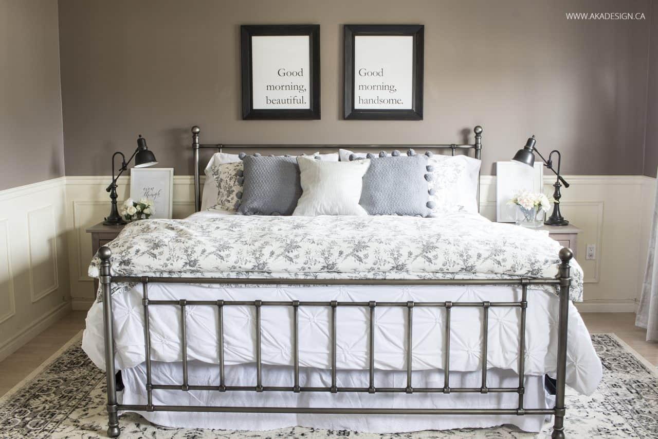 Neutral Master Bedroom King Bed