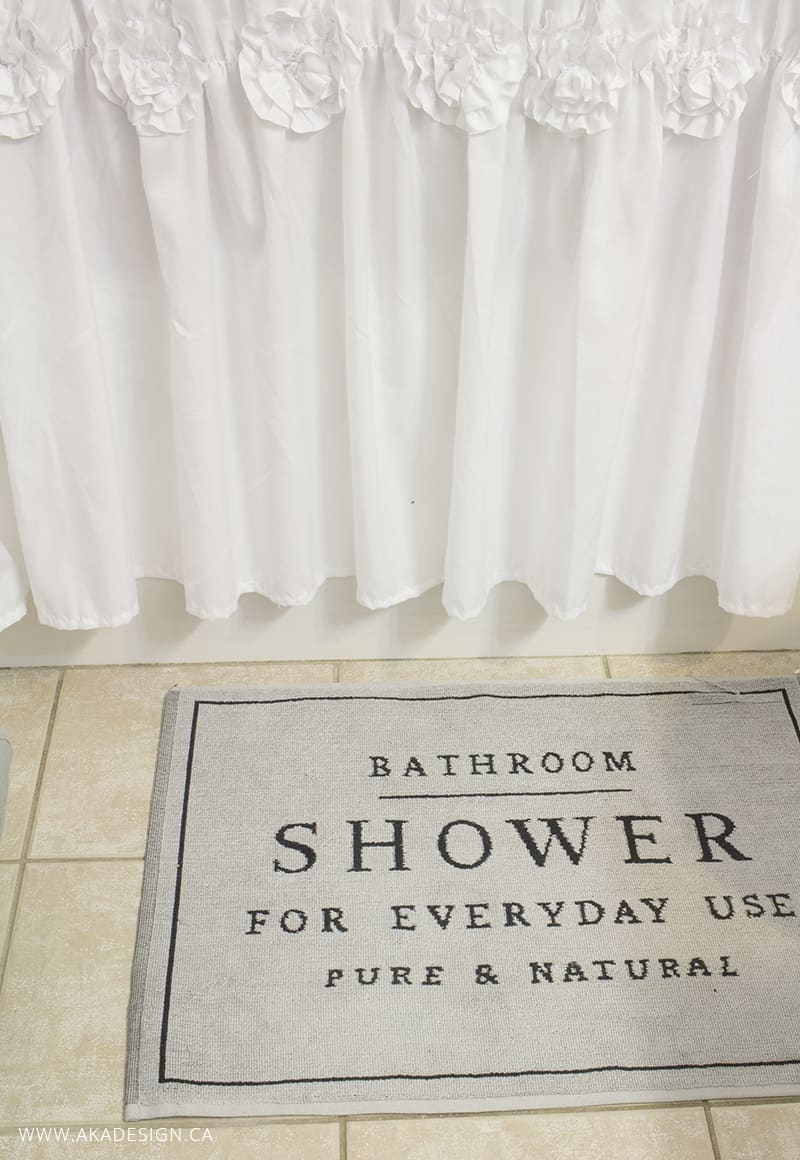 Shower for everyday use bath mat