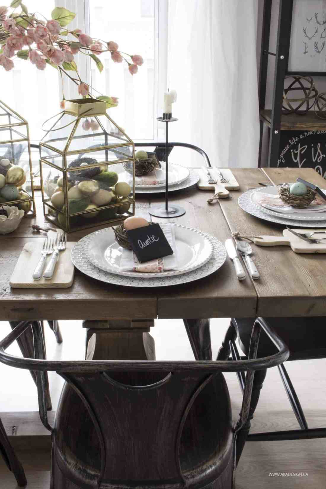Home Made Lovely Spring 2017 Easter Table