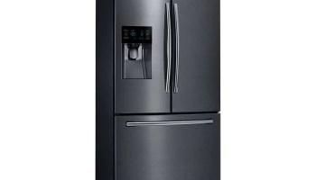 samsung black stainless fridge. The Appliances We Chose For Our Modern Farmhouse Kitchen Makeover Samsung Black Stainless Fridge G