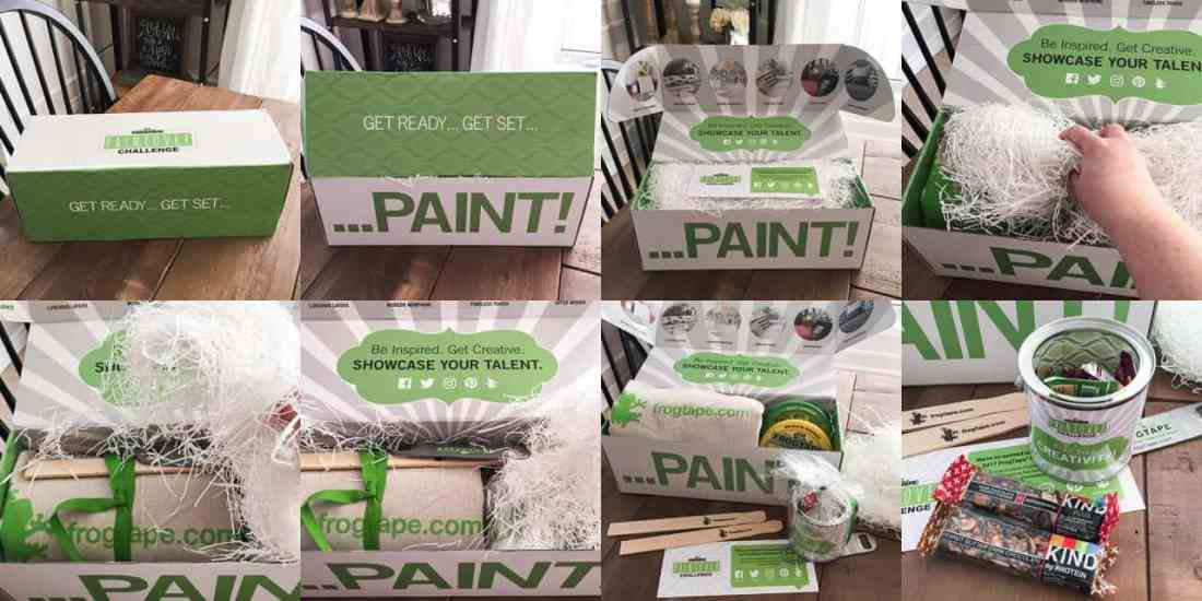 Frogtape Paintover Challenge Unboxing