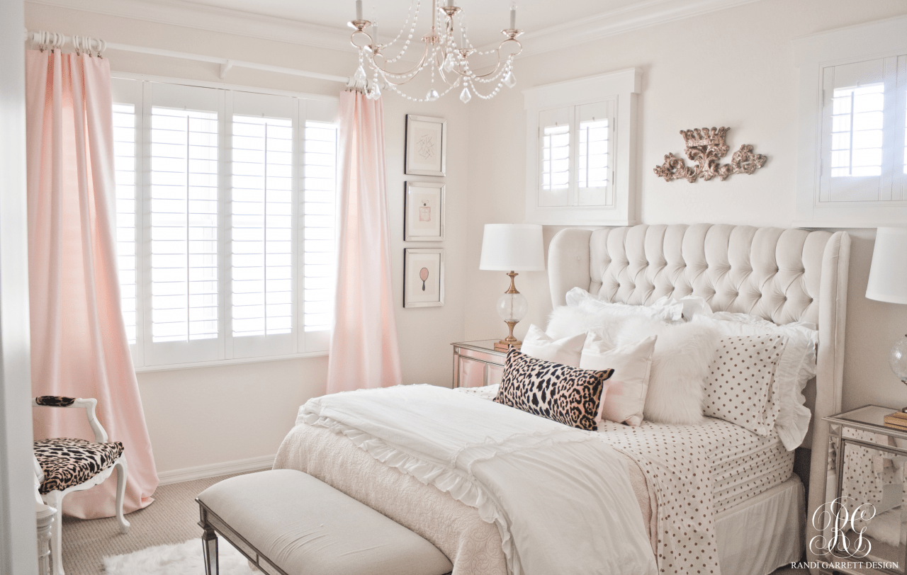 pink and gold girl s bedroom makeover before photos plans and rh homemadelovely com