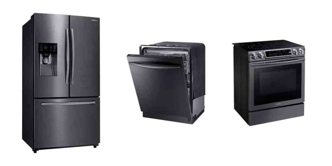 The Home Depot Samsung Black Stainless Appliances