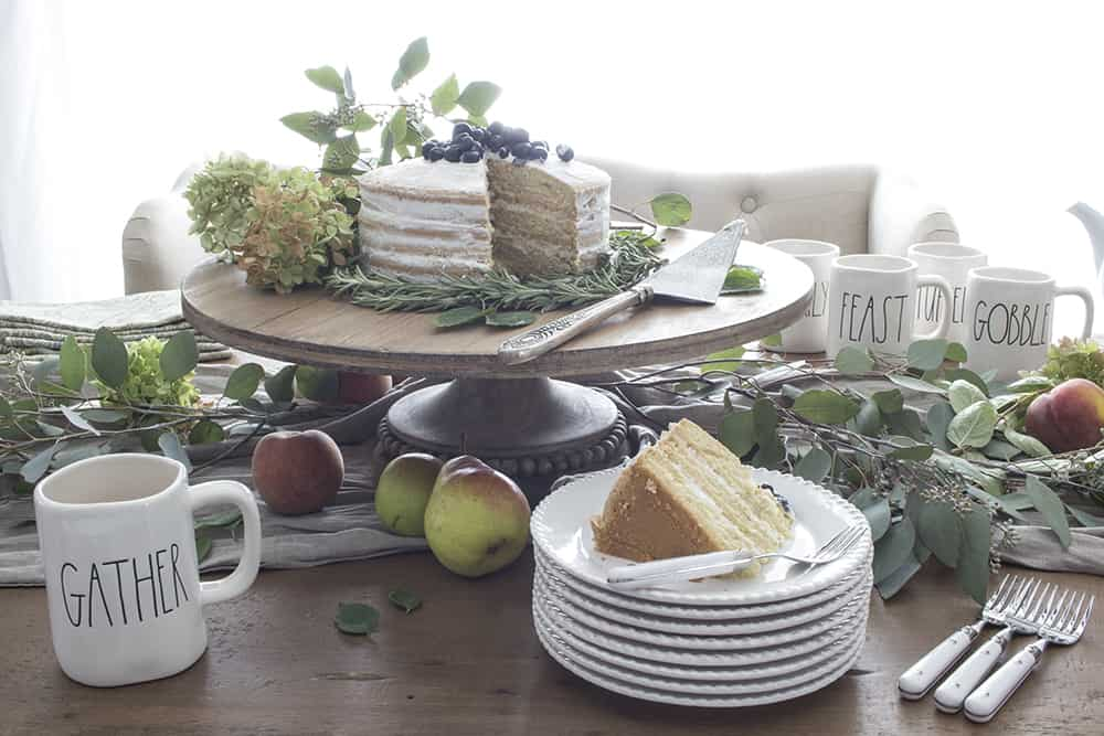 rea dunn dessert table
