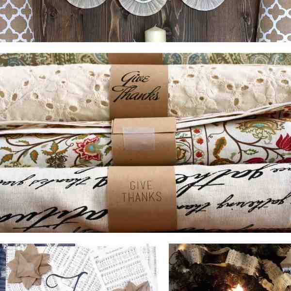 4 Easy paper holiday crafts