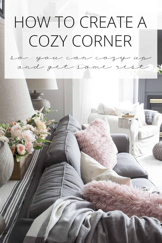 how to create a cozy corner