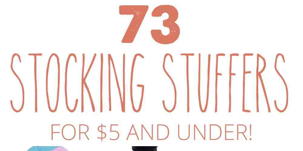 73 stocking stuffers for $5 and under