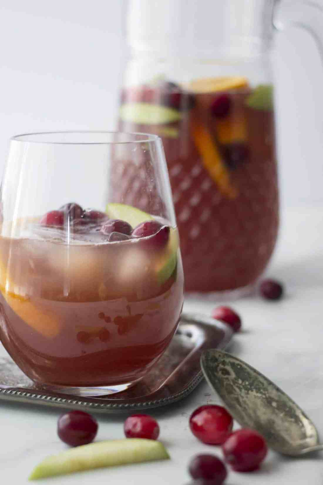 Apple Orange Cranberry Sangria 1